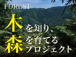 木を知り、森を育てるプロジェクト