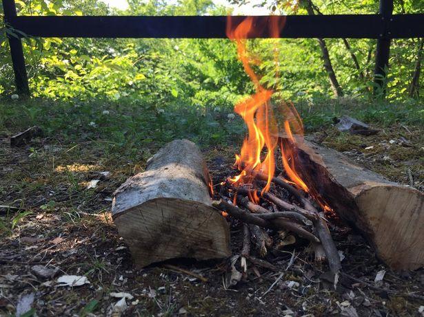 これを知ったら焚き火がもっとたのしくなる薪の組み方